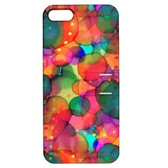 Rainbow Bubbles Apple iPhone 5 Hardshell Case with Stand