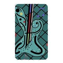 Blue guitar Memory Card Reader