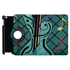 Blue guitar Apple iPad 3/4 Flip 360 Case