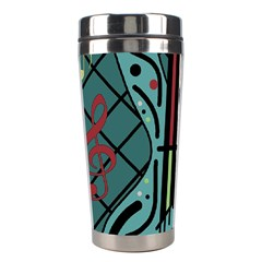Blue guitar Stainless Steel Travel Tumblers