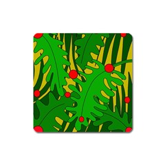 In the jungle Square Magnet