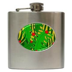 In the jungle Hip Flask (6 oz)