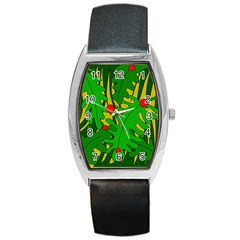 In the jungle Barrel Style Metal Watch