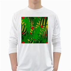 In the jungle White Long Sleeve T-Shirts