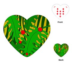 In the jungle Playing Cards (Heart)