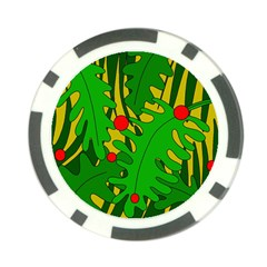 In the jungle Poker Chip Card Guards