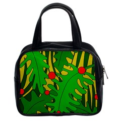 In the jungle Classic Handbags (2 Sides)