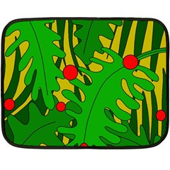 In the jungle Double Sided Fleece Blanket (Mini)