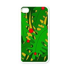 In the jungle Apple iPhone 4 Case (White)