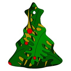In the jungle Christmas Tree Ornament (2 Sides)