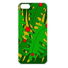 In the jungle Apple iPhone 5 Seamless Case (White)