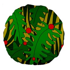 In the jungle Large 18  Premium Round Cushions