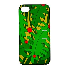 In the jungle Apple iPhone 4/4S Hardshell Case with Stand