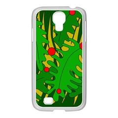 In the jungle Samsung GALAXY S4 I9500/ I9505 Case (White)
