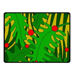 In the jungle Double Sided Fleece Blanket (Small)