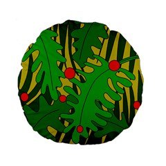 In the jungle Standard 15  Premium Flano Round Cushions