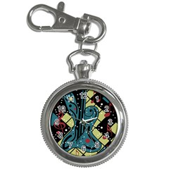 Playful guitar Key Chain Watches