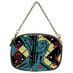 Playful guitar Chain Purses (One Side)