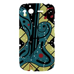Playful guitar HTC Desire S Hardshell Case