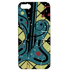 Playful Guitar Apple Iphone 5 Hardshell Case With Stand