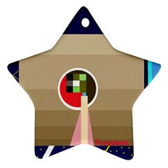 Decorative abstraction Ornament (Star)
