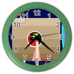 Decorative abstraction Color Wall Clocks