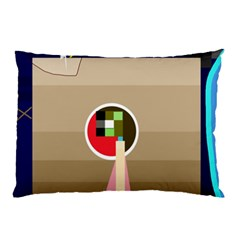Decorative abstraction Pillow Case