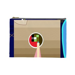 Decorative abstraction Cosmetic Bag (Large)