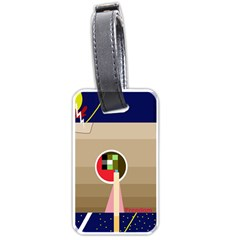 Decorative abstraction Luggage Tags (One Side)
