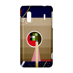 Decorative abstraction HTC Evo Design 4G/ Hero S Hardshell Case