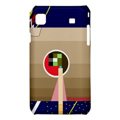 Decorative abstraction Samsung Galaxy S i9008 Hardshell Case