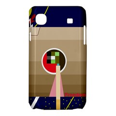 Decorative abstraction Samsung Galaxy SL i9003 Hardshell Case