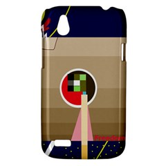 Decorative abstraction HTC Desire V (T328W) Hardshell Case
