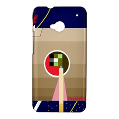 Decorative abstraction HTC One M7 Hardshell Case