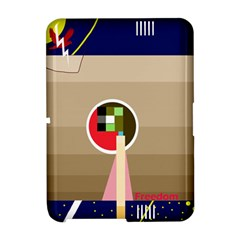 Decorative abstraction Amazon Kindle Fire (2012) Hardshell Case