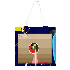 Decorative abstraction Grocery Light Tote Bag