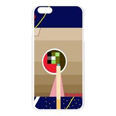 Decorative abstraction Apple Seamless iPhone 6 Plus/6S Plus Case (Transparent)