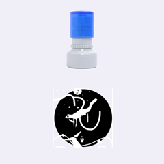 Crazy dream Rubber Round Stamps (Small)
