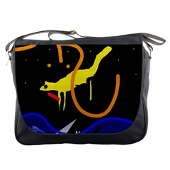 Crazy dream Messenger Bags
