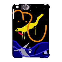 Crazy dream Apple iPad Mini Hardshell Case (Compatible with Smart Cover)