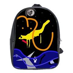 Crazy dream School Bags (XL)
