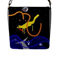 Crazy dream Flap Messenger Bag (L)
