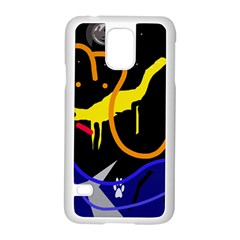 Crazy dream Samsung Galaxy S5 Case (White)