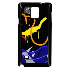 Crazy dream Samsung Galaxy Note 4 Case (Black)