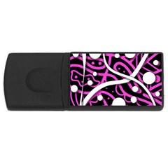 Purple harmony USB Flash Drive Rectangular (4 GB)