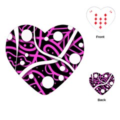 Purple harmony Playing Cards (Heart)