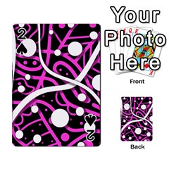 Purple harmony Playing Cards 54 Designs