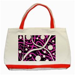 Purple harmony Classic Tote Bag (Red)