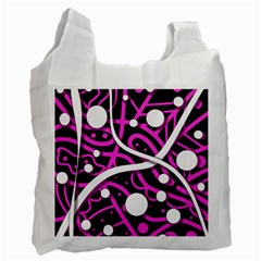 Purple harmony Recycle Bag (One Side)