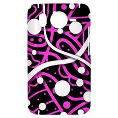Purple harmony HTC Desire HD Hardshell Case